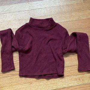 Windsor sweater crop top